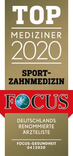 Focus Mediziner-Siegel Sport-Zahnmedizin 2020